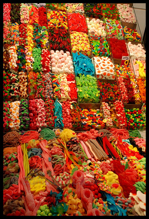 Candy candy candy candy!!  Its all about presentation